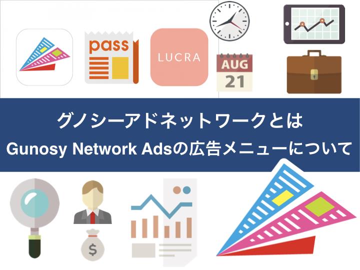 グノシーアドネットワークとは Gunosy Network Adsの広告メニューについて